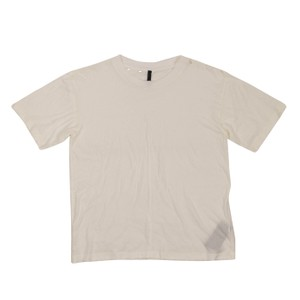 Unravel Project Cotton Distressed Classic T Shirt White