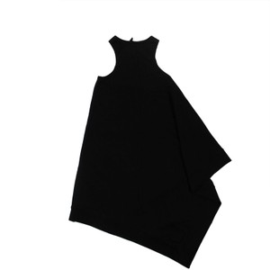 Unravel Project Cotton Logo Sleeveless Dress