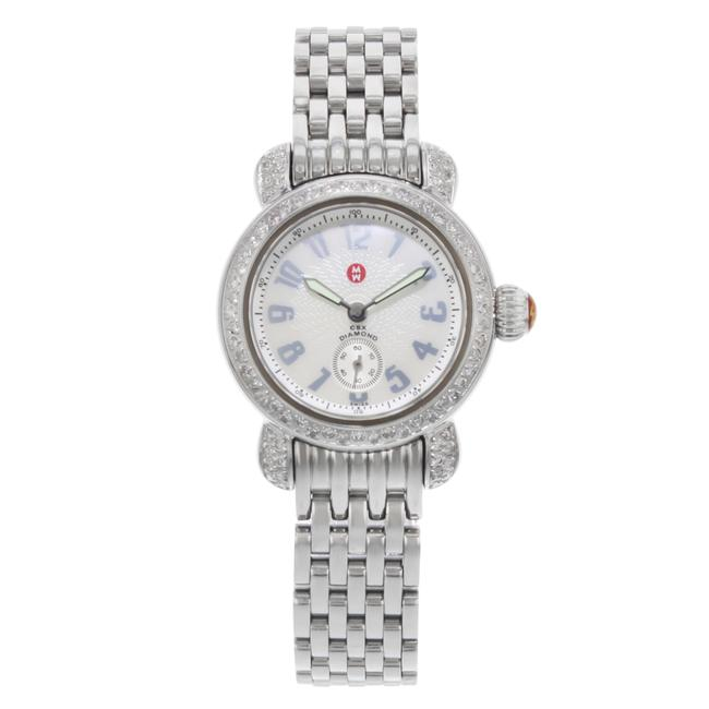 Item - Steel Csx Petite Mother Of Pearl Dial Quartz Ladies Mw03a01 Watch