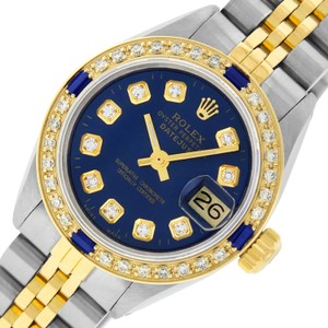 Rolex Ladies Datejust Ss/Yellow Gold with Diamond Dial
