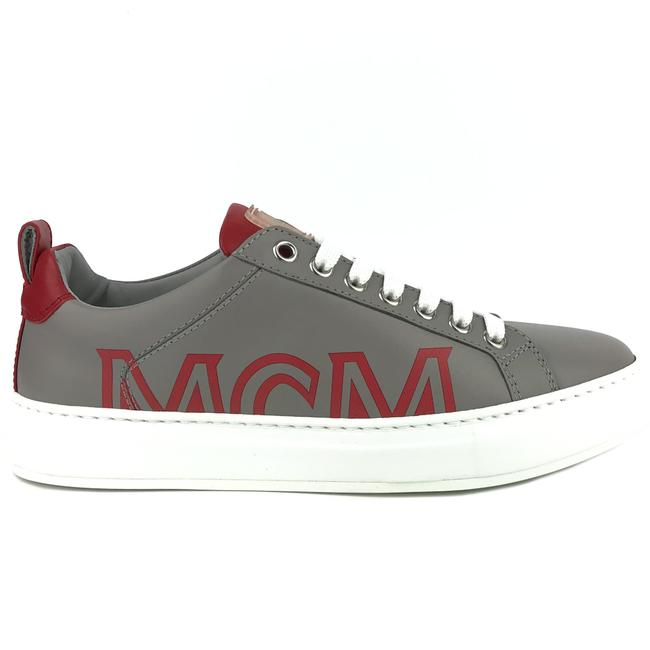 Item - Gray New Logo Low Top Leather 37 / Sneakers Size US 7 Regular (M, B)