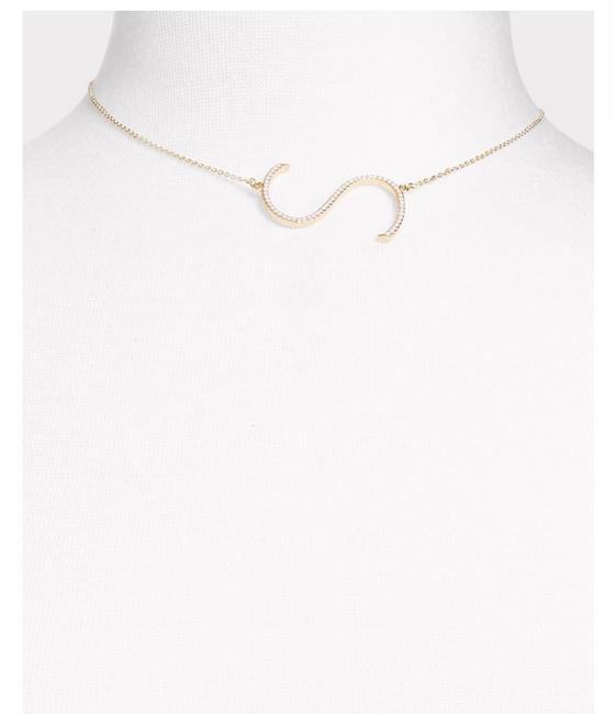Item - Gold Inital Letter S Necklace