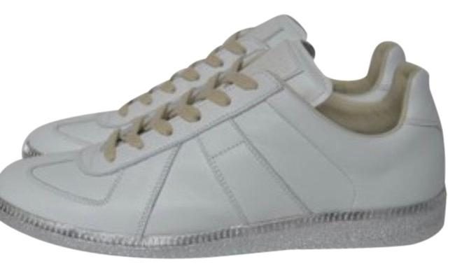 Item - White Patent Silver Sole Sneakers Size EU 39.5 (Approx. US 9.5) Regular (M, B)