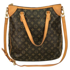 Louis Vuitton Monogram Shoulder Odeon Canvas Vintage Cross Body Bag