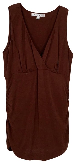 Item - Brown Crossover Tank Top/Cami Size 2 (XS)