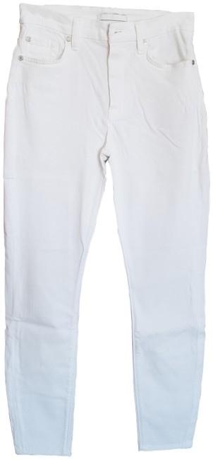 Item - White Light Wash High Rise Skinny Jeans Size 27 (4, S)