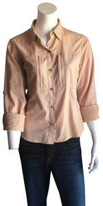 ExOfficio Button Down Shirt Coral