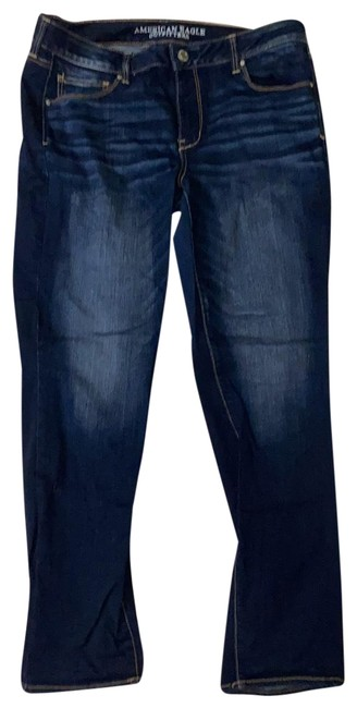 Item - Blue Dark Rinse Super Stretch Skinny Jeans Size 16 (XL, Plus 0x)