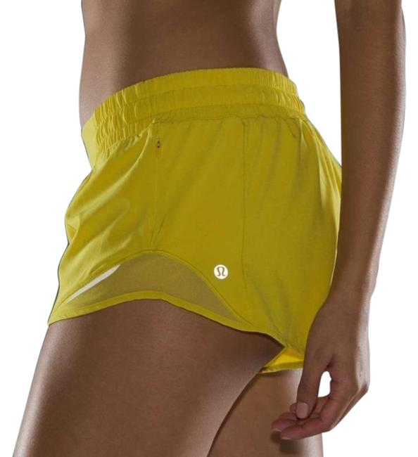"""Item - Yellow Hotty Hot Running Soleil Lined with 2.5"""" Insea Activewear Bottoms Size 8 (M, 29, 30)"""