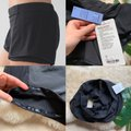 Lululemon Black Meshed Up In Activewear Bottoms Size 10 (M, 31) Lululemon Black Meshed Up In Activewear Bottoms Size 10 (M, 31) Image 2