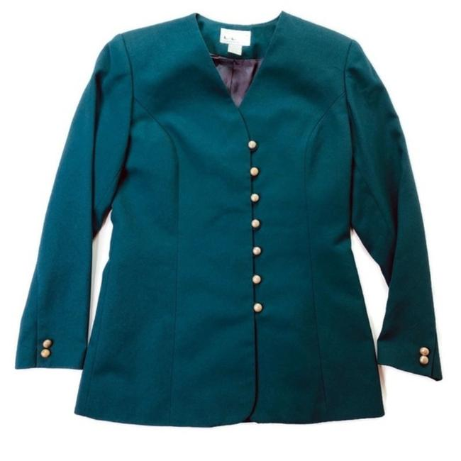 Item - Green Ccf Collection Blazer Size 6 (S)