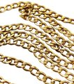 "Other 14K Gold 4.3MM 24"" Curb Chain Necklace"
