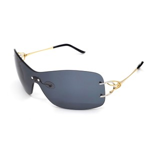 FRED FRED LUNETTES - Volute Solaire F1 - Gold / Silver / Gray