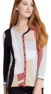 NIC+ZOE Colorblock Career Work Cardigan Sweater