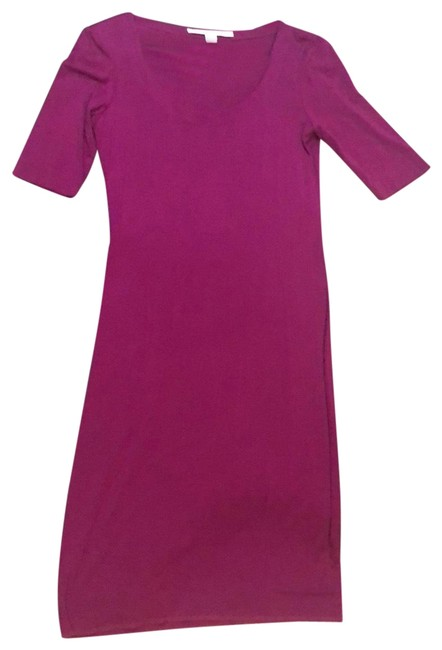 Item - Fuchsia 01 Mid-length Casual Maxi Dress Size 8 (M)