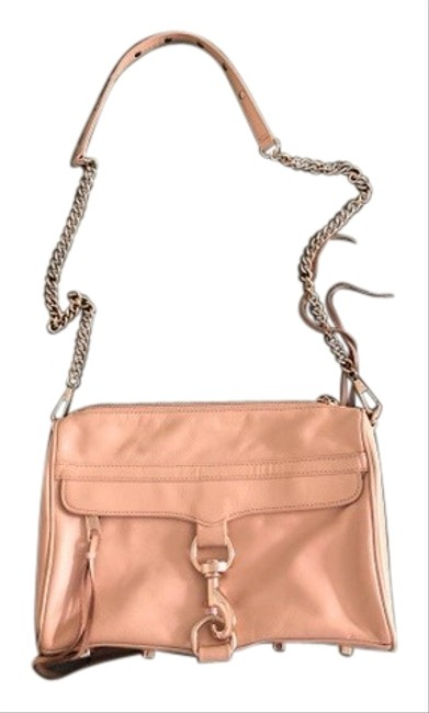 Item - Large Mac Biscuit/Beige Leather Cross Body Bag