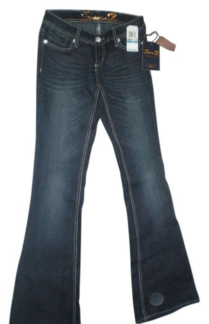 Preload https://img-static.tradesy.com/item/274504/7-for-all-mankind-dark-blue-rinse-premium-denim-boot-cut-jeans-size-25-2-xs-0-0-650-650.jpg