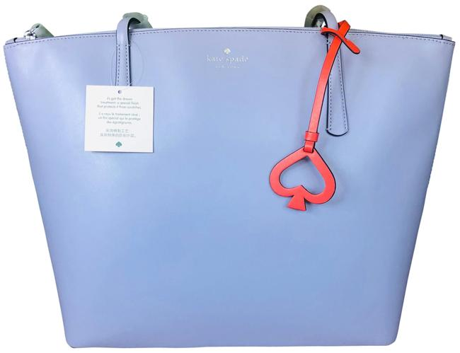Item - Lilac Leather Tote