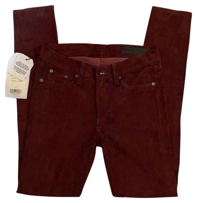 Item - Port Suede Skinny Jeans Size 4 (S, 27)