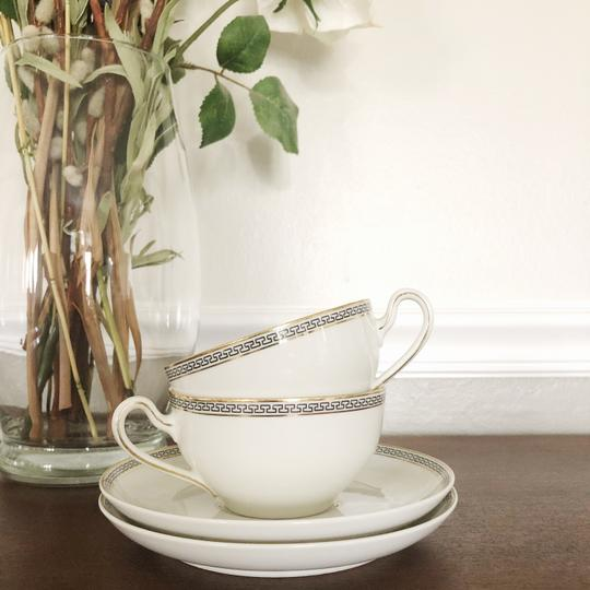 Preload https://img-static.tradesy.com/item/27451388/white-germany-porcelain-coffee-set-for-two-plus-pastry-fine-china-0-0-540-540.jpg