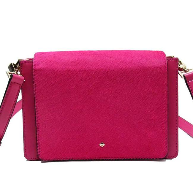 Item - Harako Ladies N9161 Pink Leather Shoulder Bag