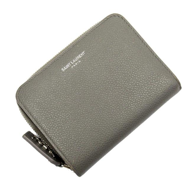 Item - Gray Bi-fold Leather Ladies Wallet