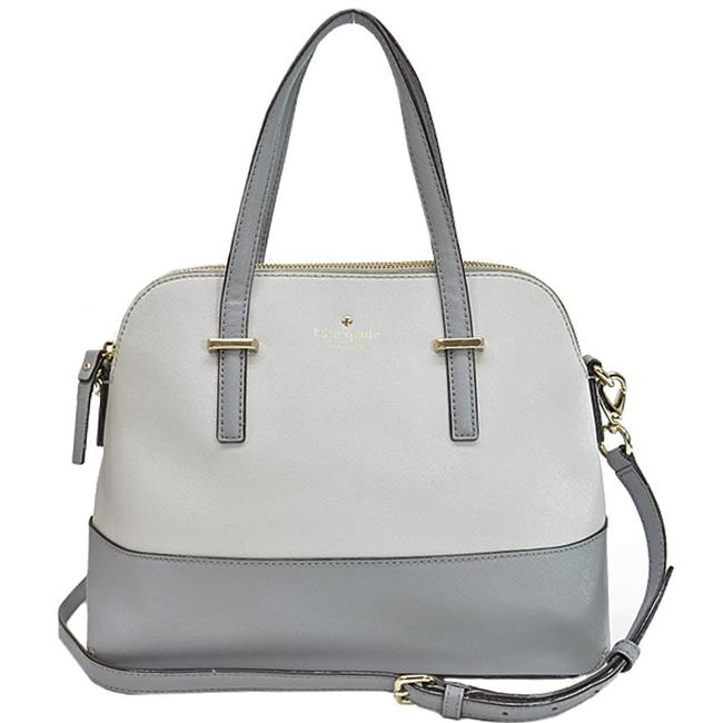 Item - Handbag Ladies R7769 Gold / Gray / Light Gray Leather Shoulder Bag