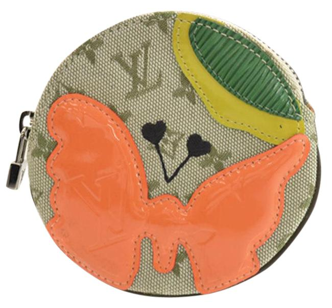 Item - Khaki / Monogram / Monogram Coin Purse Mini Comte De Feux Portmonet Ron Canvas Verni Epi Ladies M92461 51491 Wallet