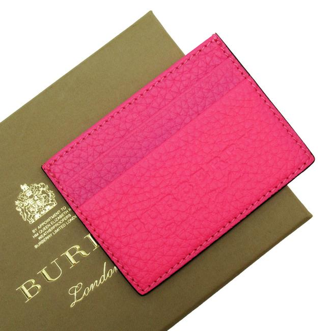 Item - Pink Card Case Pass Leather Ladies 2966 Wallet