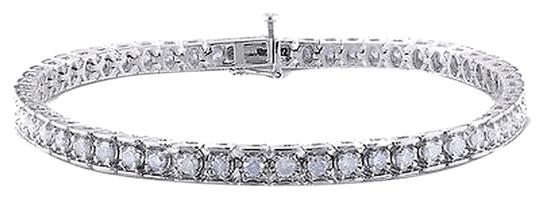 Other Sterling Silver Diamond Tennis Bracelets 2 Ct Cttw G-h I3 7.25