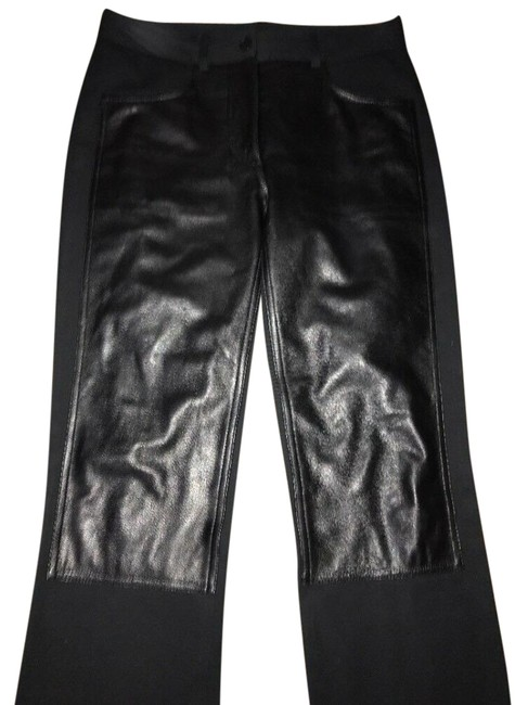 Item - Black Leather Pants Size 4 (S, 27)