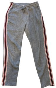 TNA Athletic Pants heather grey/navy/red