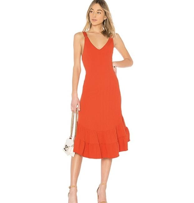 Item - Red Into You Mid-length Casual Maxi Dress Size 0 (XS)