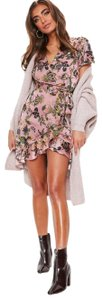 Missguided short dress Multi-color Dior Gucci Louis Vuitton Tory Burch Kate Spade on Tradesy