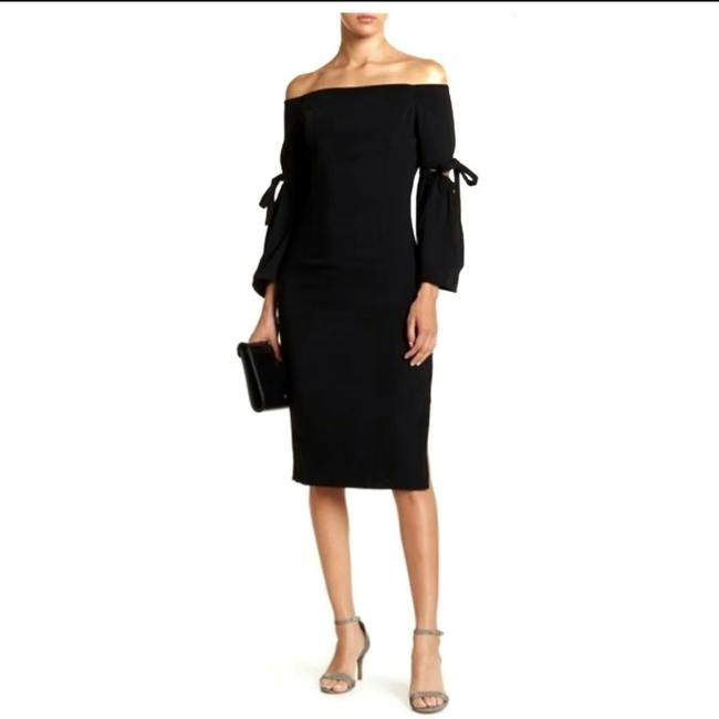 Item - Black 139239 Mid-length Night Out Dress Size 4 (S)