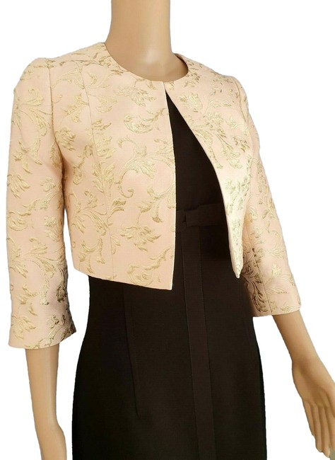 Item - Pale Pink Gold Gilese Cropped Euc Jacket Size 4 (S)