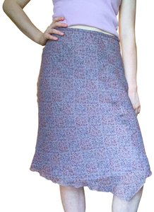 American Vintage Skirt Purple and red
