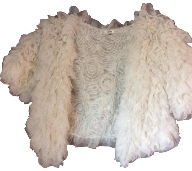 Item - White Ethereal Cropped From Jacket Size 8 (M)