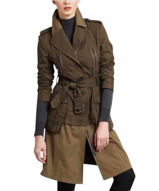 Item - Green Olive Willow Military Coat Size 6 (S)