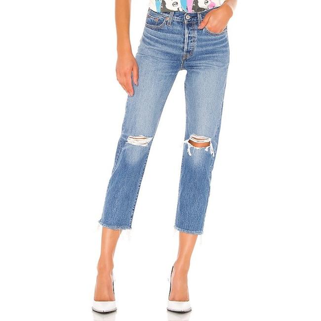 Item - Uncovered Truth Distressed Wedgie Fit Straight Leg Jeans Size 12 (L, 32, 33)