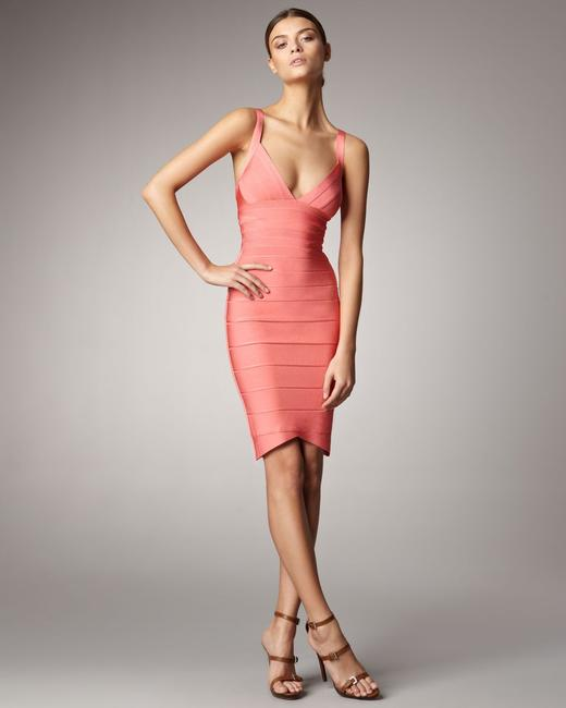 Item - Coral Sela Short Night Out Dress Size 4 (S)