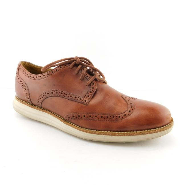 Cole Haan Brown Leather Wingtip Oxfords 11 Shoes Cole Haan Brown Leather Wingtip Oxfords 11 Shoes Image 1