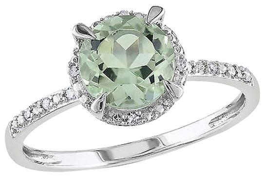 Preload https://item2.tradesy.com/images/10k-white-gold-diamond-and-1-13-ct-tgw-green-amethyst-fashion-ring-gh-i2i3-2745721-0-0.jpg?width=440&height=440