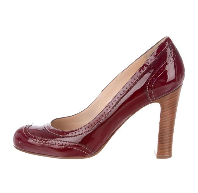 Item - Red Harry Wine Patent Leather Pumps Size EU 36 (Approx. US 6) Narrow (Aa, N)