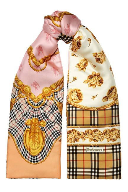 Item - Multi-color Unisex Silk Quilted Scarf/Wrap