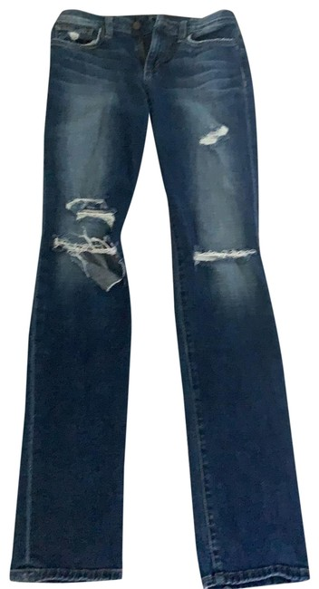 Item - Distressed 108214 Relaxed Fit Jeans Size 2 (XS, 26)