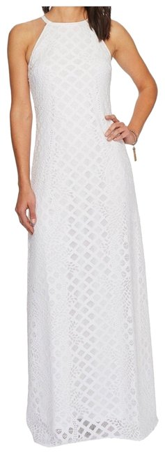 Item - White Pearl Long Casual Maxi Dress Size 8 (M)