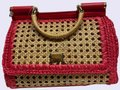 Dolce&Gabbana Satchel in Natural , Red