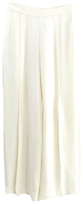 Item - White Slit Trouser #168-13 Pants Size 0 (XS, 25)
