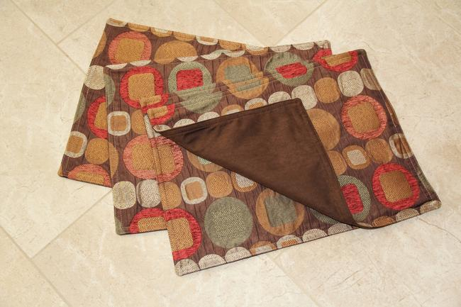 Brown 4 Metro Spice Placemats Tableware Brown 4 Metro Spice Placemats Tableware Image 1